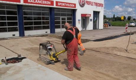 Mijdrecht reconstructie bedrijfsterrein Profile Tyrecenter Hogendoorn