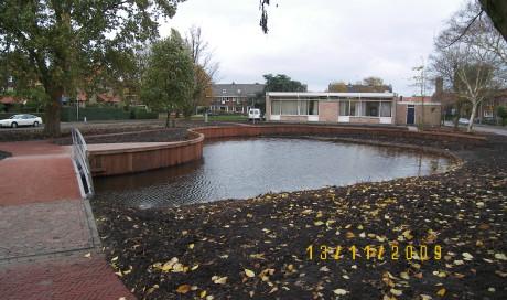Uithoorn herinrichting/waterbouw Oranjepark