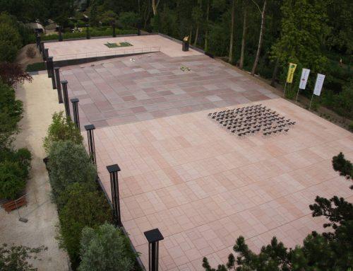 begraafplaats Zorgvlied, aanleg mausoleum 't Lalibellum