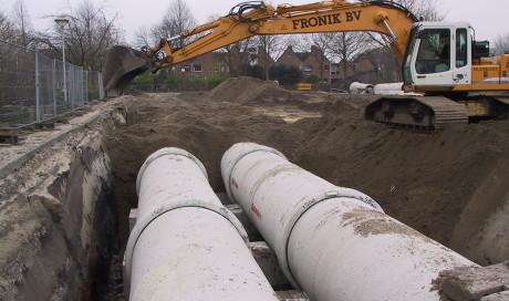 Hillegom riolering bouwplan de Marel