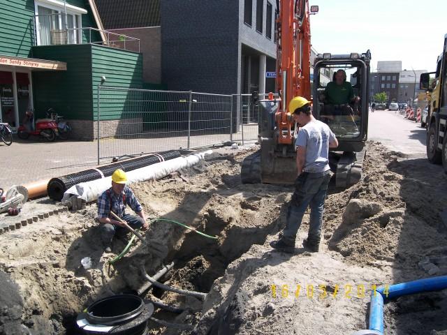 Aannemingsbedrijf Fronik Infra B.V. in Mijdrecht Aalsmeer Reconstructie Molenpad