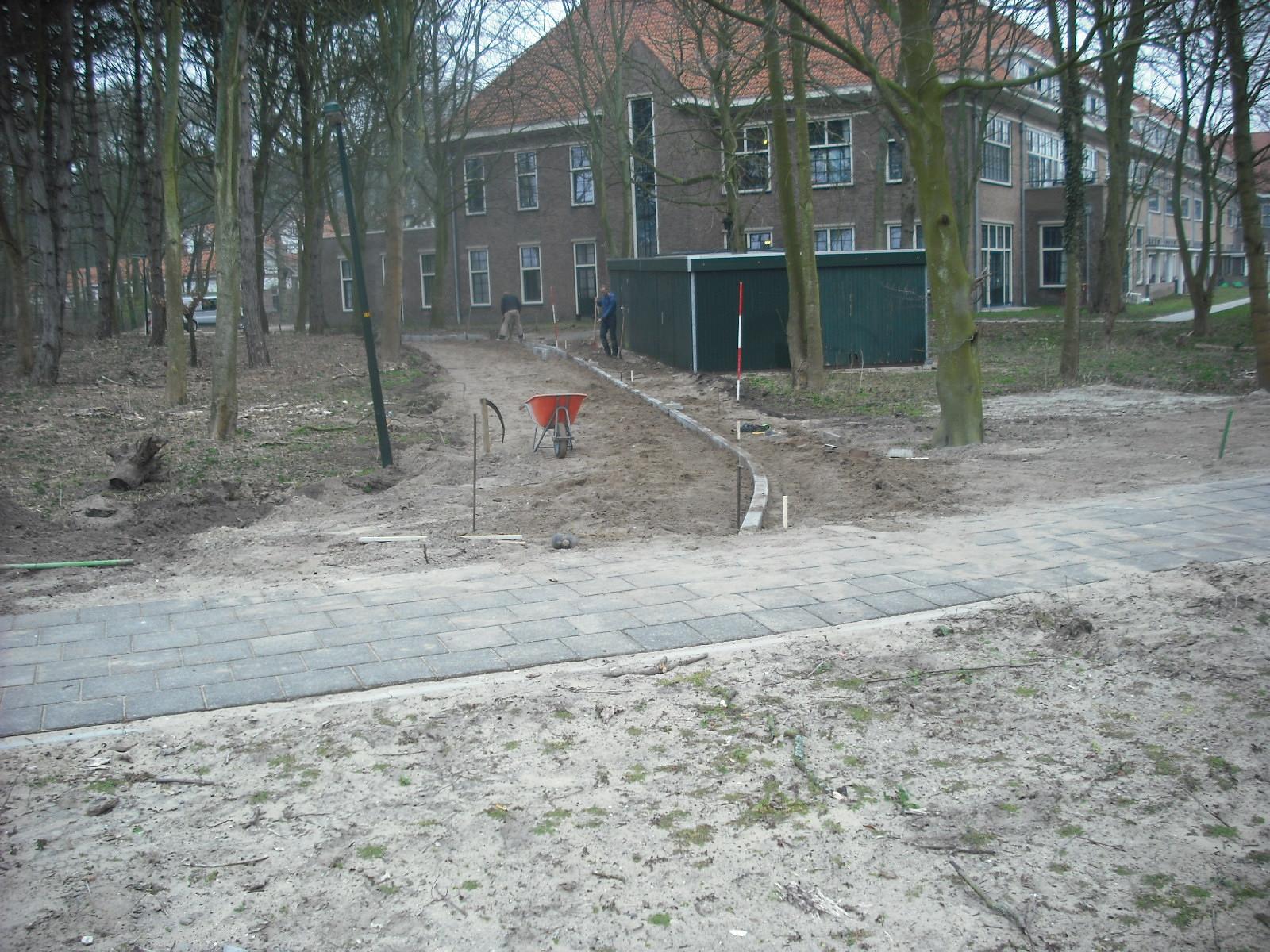 Aannemingsbedrijf Fronik Infra B.V. in Mijdrecht Castricum, ontwikkeling Duin en Bosch fase 3
