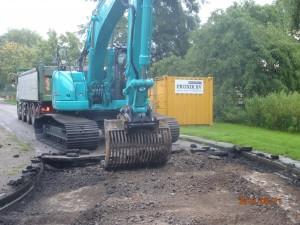 Aannemingsbedrijf Fronik Infra B.V. in Mijdrecht Uithoorn, vervanging riolering Colijnlaan