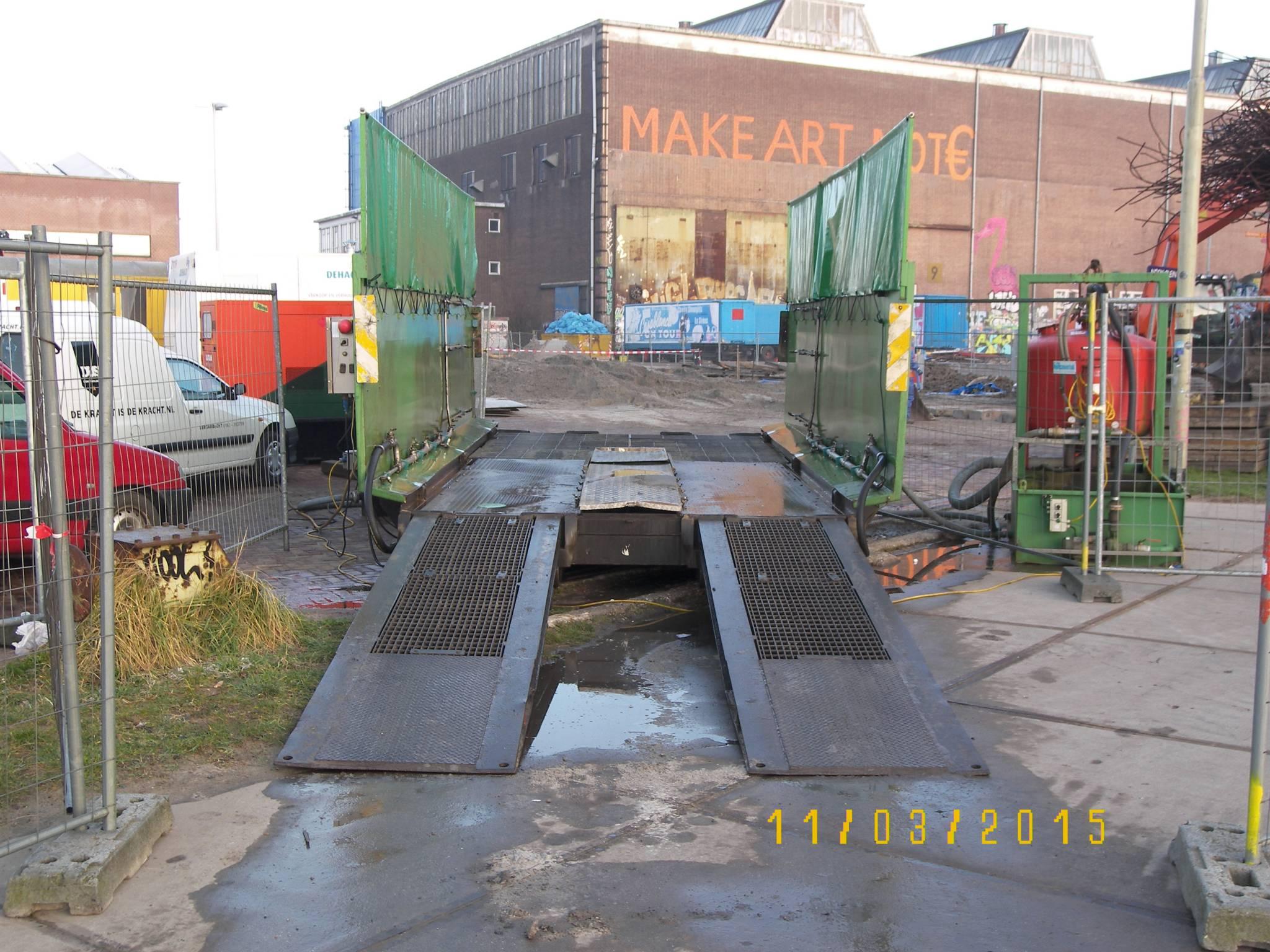 Aannemingsbedrijf Fronik Infra B.V. in Mijdrecht Amsterdam, sanering asbestverontreiniging NDSM werf oost
