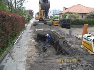 Aannemingsbedrijf Fronik Infra B.V. in Mijdrecht Uithoorn, herstraten en vervangen riolering Grevelingen en GooimeerAannemingsbedrijf Fronik Infra B.V. in Mijdrecht