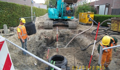Uithoorn, vervanging riolering Colijnlaan