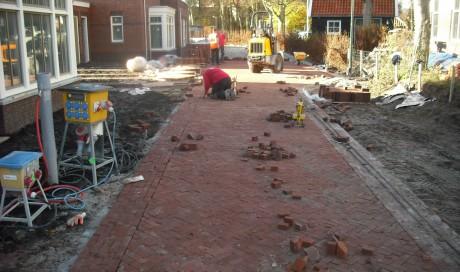 Castricum, Bouw en woonrijpmaken bouwplan Nieuw Koningsduin