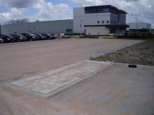 Aannemingsbedrijf Fronik Infra B.V. in Mijdrecht Mijdrecht, uitbreiding parkeerterrein bedrijfsterrein