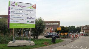 Aannemingsbedrijf Fronik Infra B.V. in Mijdrecht Roelofarendsveen, reconstructie Gruttohof met EMVI