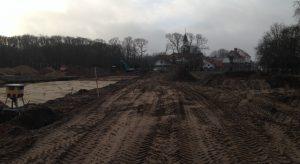 Aannemingsbedrijf Fronik Infra B.V. in Mijdrecht Castricum Bouwplan Nieuw Koningsduin fase 4 t/m 6