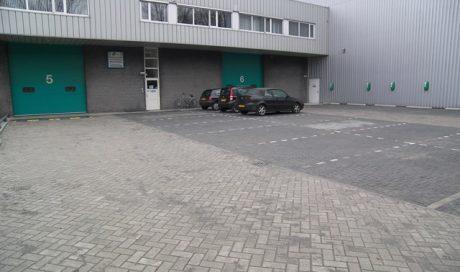 Uithoorn, onderhoud bedrijfsterrein P.A. van Rooyen Top Movers