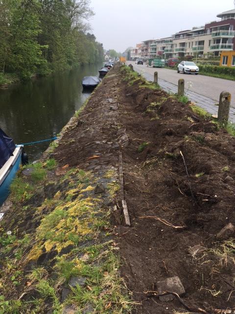 Aannemingsbedrijf Fronik Infra B.V. in Mijdrecht, Noordwijk, herinrichting Schiestraat
