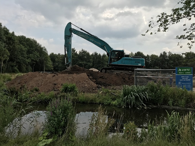 Aannemingsbedrijf Fronik Infra B.V. bouwplan wonen in Buitengoed in Uithoorn