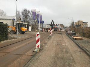 AAannemingsbedrijf Fronik Infra B.V. in Mijdrecht, Weesp, Rioolreconstructie Nijverheidslaan