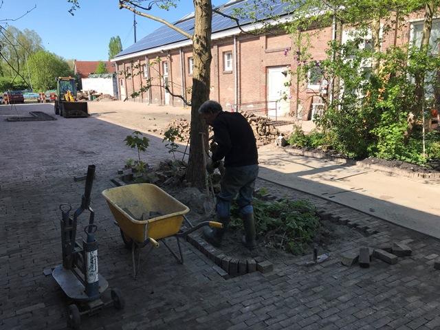 Aannemingsbedrijf Fronik Infra B.V. in Mijdrecht, Amsterdam, duurzame vergroening voor Stichting Nieuw & Meer
