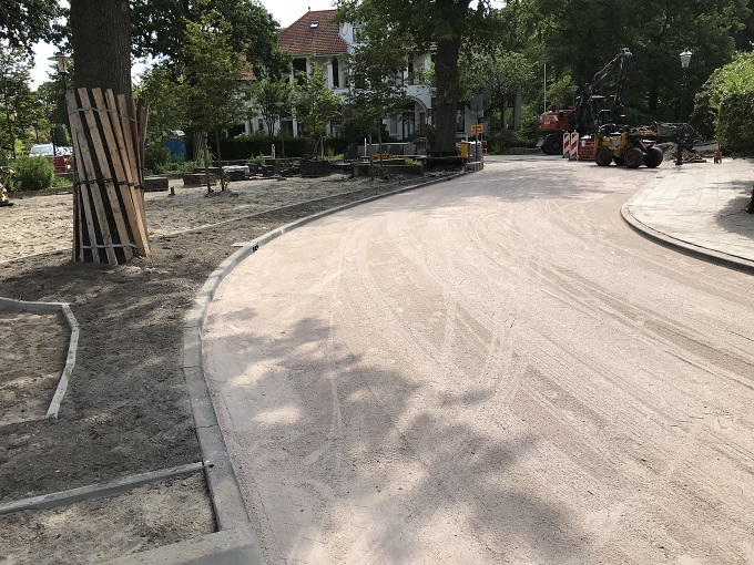 aannemingsbedrijf Fronik Infra B.V. herinrichting Wilhelminapark Oegstgeest
