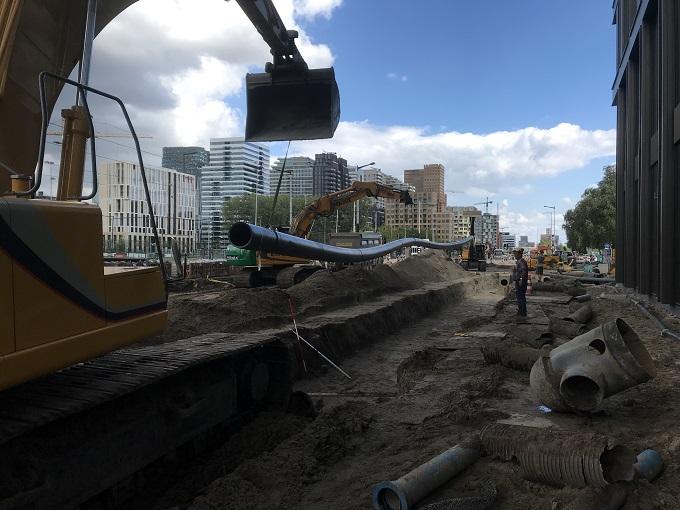 Aannemingsbedrijf Fronik Infra B.V. Rioolreconstructie Boelelaan Amsterdam