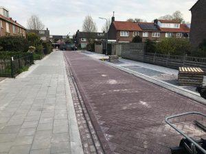 Fronik Infra B.V. reconstructie Eikenlaan Loosdrecht