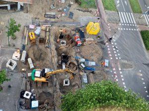 Fronik Infra rioolreconstructie Lusthofkwartier Rotterdam