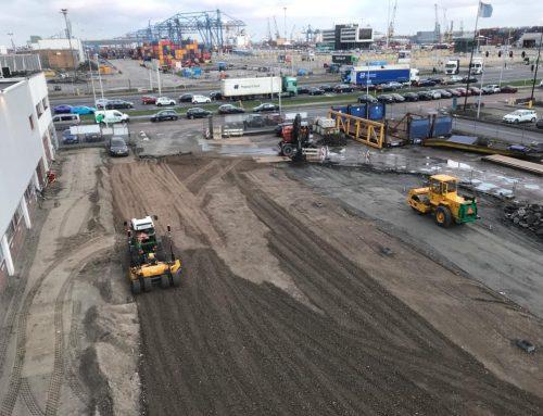 Rotterdam, reconstructie terreinverharding
