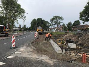 Fronik Infra bushalte Zwarteweg Aalsmeer