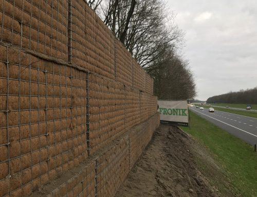 Eemnes, bouw geluidswal langs Westzijde A27 EMVI